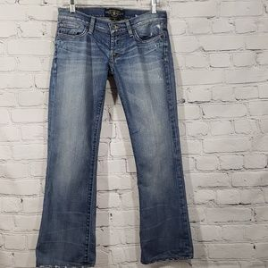 Lucky Brand Lil Maggie Distressed Jean's size 2/26